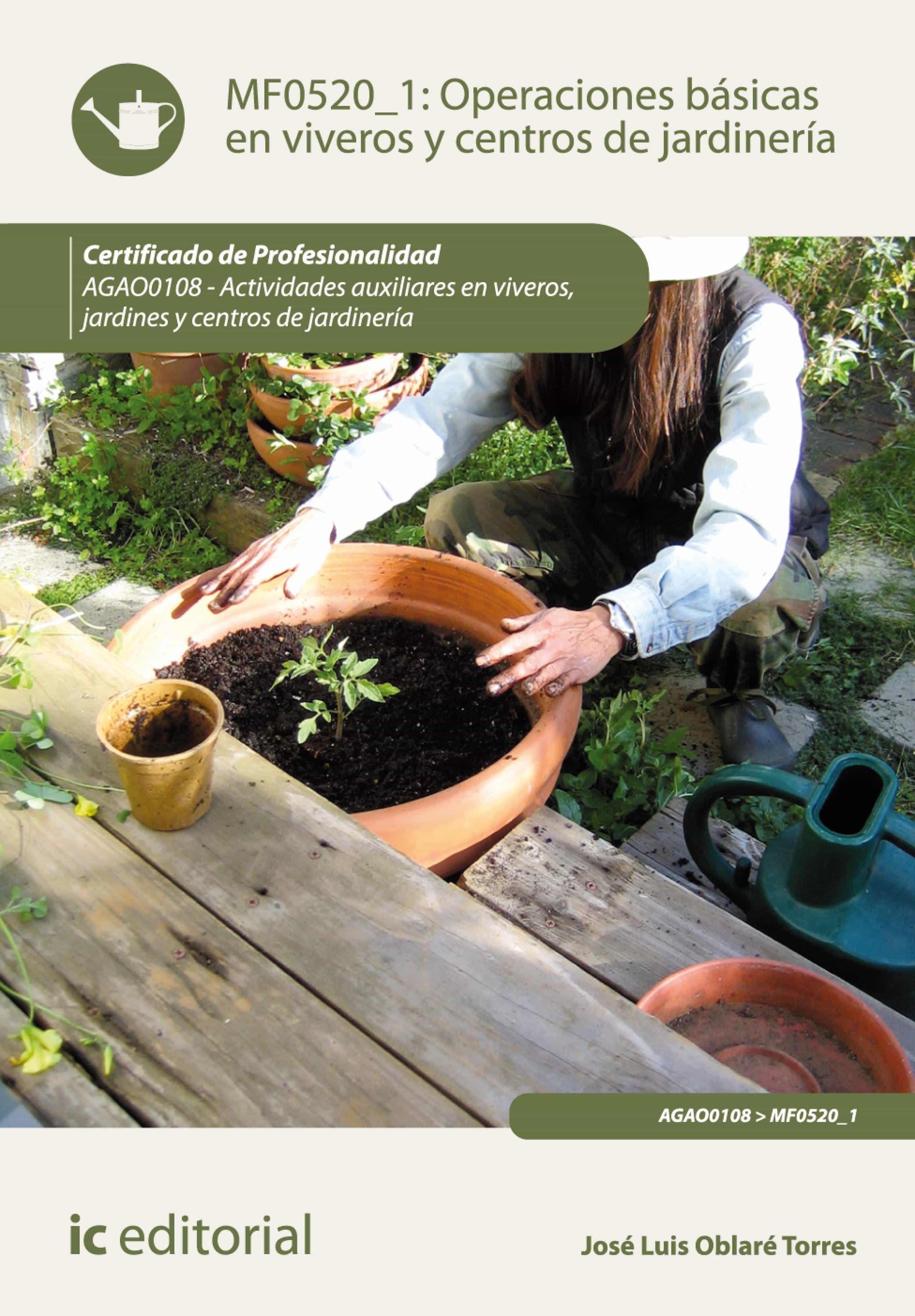 Operaciones b sicas en viveros y centros de jardiner a for Centro de jardineria