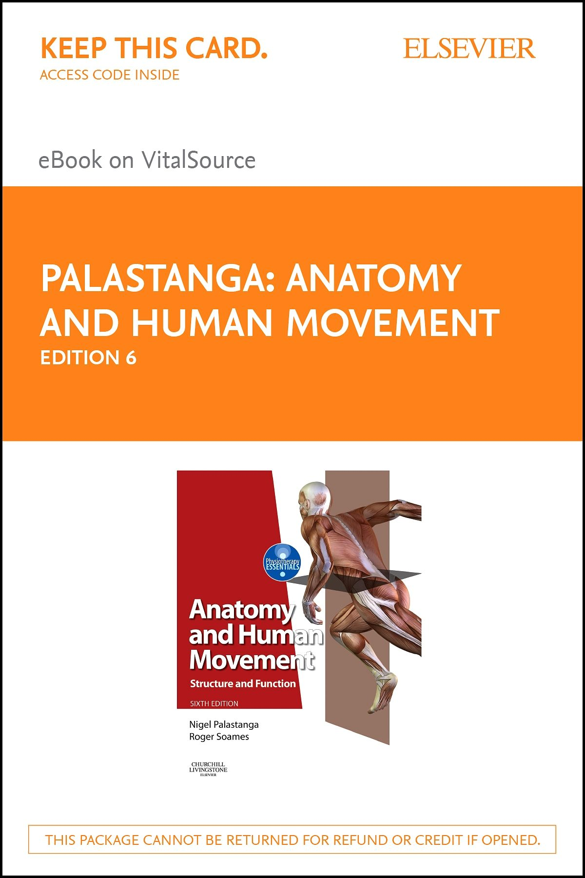 Anatomy And Human Movement Palastanga