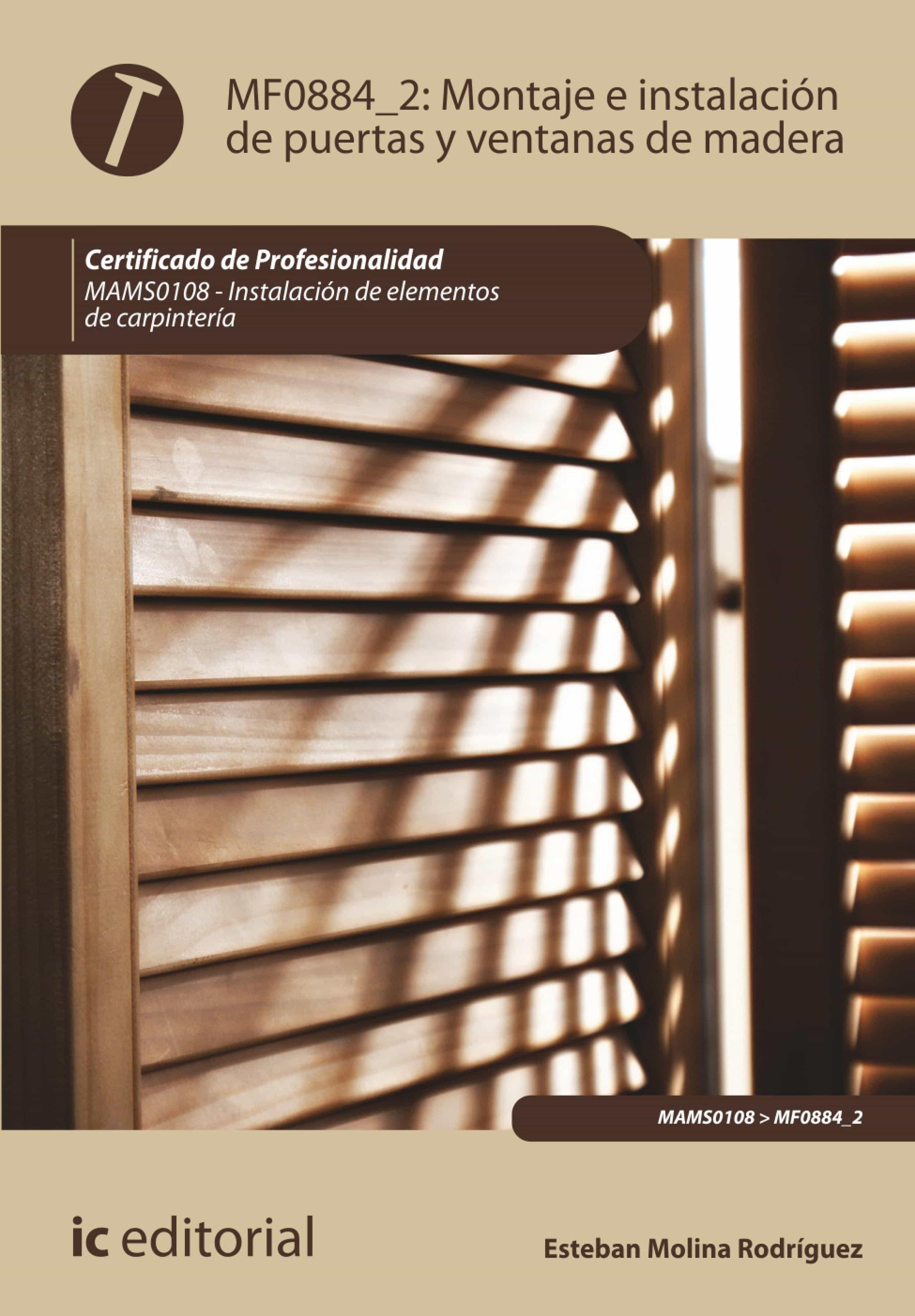 Montaje e instalaci n de puertas y ventanas de madera - Instalacion de puertas de madera ...