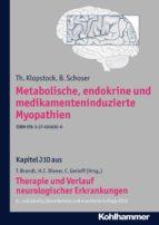 Metabolische, endokrine und medikamenteninduzierte Myopathien (ebook)