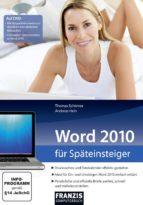 Word 2010 für Späteinsteiger (ebook)