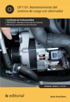 Mantenimiento del sistema de carga con alternador. TMVG0209 (ebook)