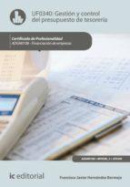 Gestión y control del presupuesto de tesorería. ADGN0108 - Financiación de empresas (ebook)