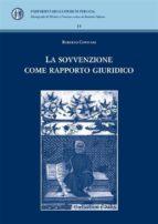 La sovvenzione come rapporto giuridico (ebook)