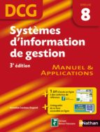 Systèmes d'information de gestion épreuve 8 DCG Manuel et Applications (ebook)