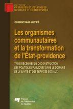 Les organismes communautaires et la transformation de l'État-providence (ebook)