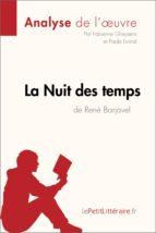 La Nuit des temps de René Barjavel (Fiche de lecture) (ebook)