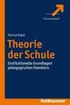 Theorie der Schule (ebook)