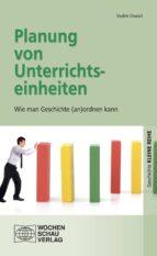 Planung von Unterrichtseinheiten (ebook)