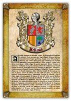 Apellido Bellosta / Origen, Historia y Heráldica de los linajes y apellidos españoles e hispanoamericanos