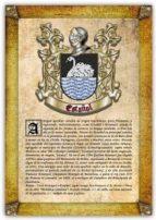 Apellido Estañol / Origen, Historia y Heráldica de los linajes y apellidos españoles e hispanoamericanos