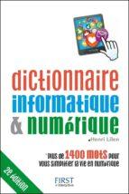 Dictionnaire informatique et numérique 2e édition (ebook)