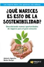¿Qué narices es esto de la sostenibilidad? (ebook)