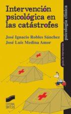 Intervención psicológica en las catástrofes (ebook)