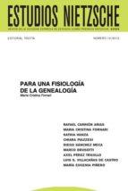 PARA UNA FISIOLOGÍA DE LA GENEALOGÍA (ebook)