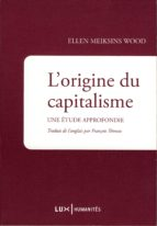 L'origine du capitalisme (ebook)