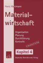 Materialwirtschaft - Kapitel 4 (ebook)