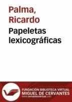 Papeletas lexicográficas (ebook)