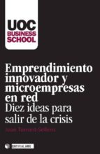 Emprendimiento innovador y microempresas en red (ebook)