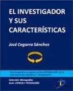 El investigador y sus características (ebook)