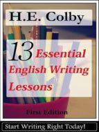 13 Essential English Writing Lessons (ebook)