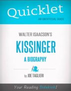 Quicklet on Walter Isaacson's Kissinger: A Biography (CliffsNotes-like Book Summary) (ebook)