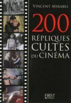 Petit livre de - 200 répliques cultes du cinéma (ebook)
