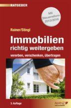 Immobilien richtig weitergeben (ebook)