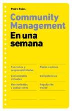 Community management en una semana (ebook)
