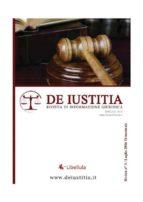 De Iustitia - Rivista di informazione giuridica - N. 3 Luglio 2016 (ebook)