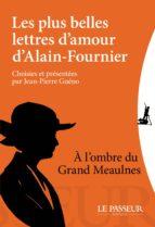 Les plus belles lettres d'amour d'Alain Fournier (ebook)
