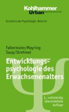 Entwicklungspsychologie des Erwachsenenalters (ebook)