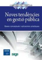 Noves tendències en gestió pública (ebook)