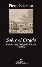 Sobre el Estado Cursos en el Collège de France (1989-1992)