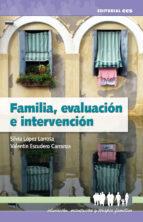 Familia, evaluación e intervención (ebook)