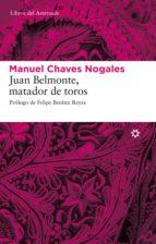 Juan Belmonte, matador de toros (ebook)
