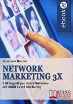 Network Marketing 3X. I 18 Segreti per Reclutare Online nel Multilevel Marketing Italiano. (Ebook Gratis) (ebook)