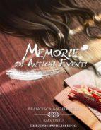 Memorie di Antichi Eventi (ebook)