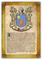 Apellido Burrull / Origen, Historia y Heráldica de los linajes y apellidos españoles e hispanoamericanos