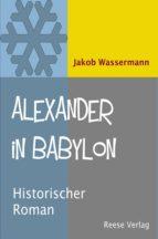 Alexander in Babylon (ebook)