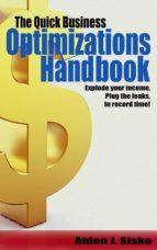 The Quick Business Optimizations Handbook (ebook)