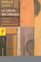 La culture des individus (ebook)
