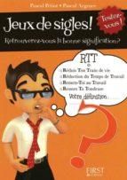 Petit livre de - Jeu de sigles (ebook)
