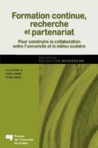 Formation continue, recherche et partenariat (ebook)