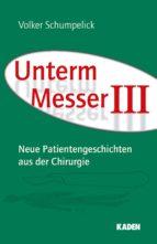Unterm Messer III (ebook)