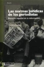 Las normas jurídicas de los periodistas (ebook)