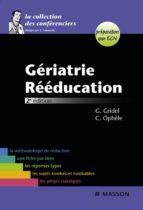 Gériatrie-Rééducation (ebook)
