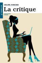 La critique (ebook)
