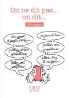 Petit Livre - On ne dit pas mais on dit (ebook)