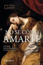 NO SÉ CÓMO AMARTE (ebook)
